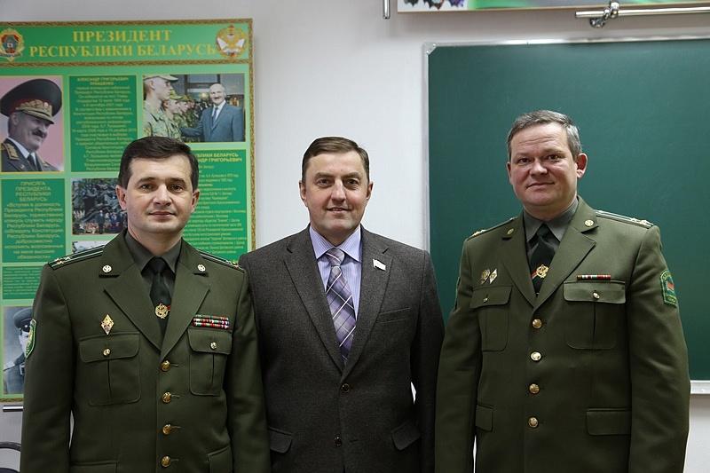 в Институте Пограничной Службы Республики Беларусь