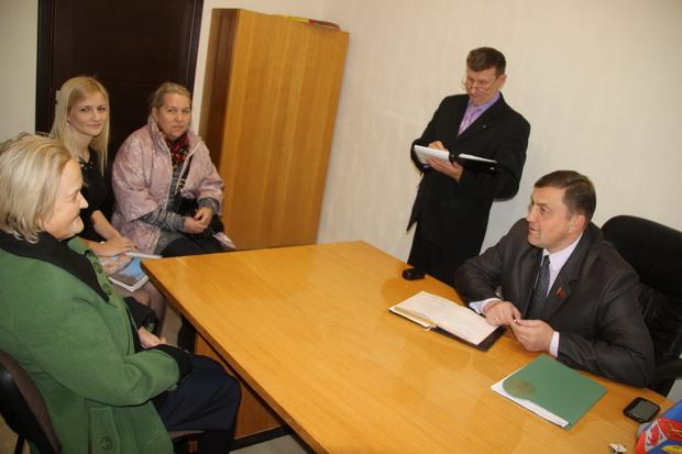 прием граждан в Ошмянах