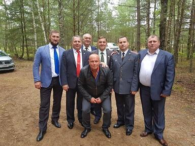 на принятии присяги в Сморгони