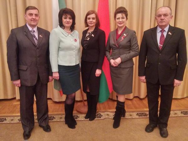 в составе группы Дружбы с Парламентом Болгарии