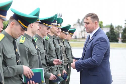 Поздравление со 100-тием пограничной службы